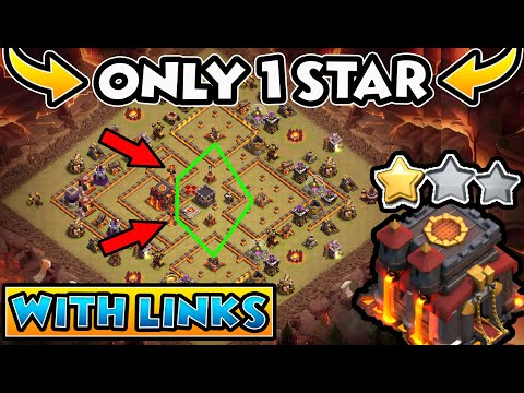 TOP 50 TOWN HALL 10 BASES WITH LINKS -Best TH10 CWL WAR BASE -TH10 Trophy Base With Base Layout 2020