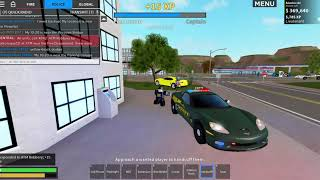 Roblox Liberty County#5 Police and EMS patrol