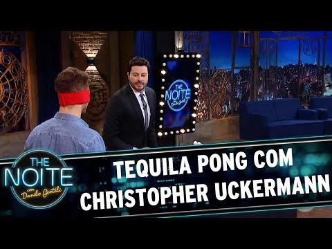Tequila Pong com Christopher Uckermann | The Noite (24/07/17)