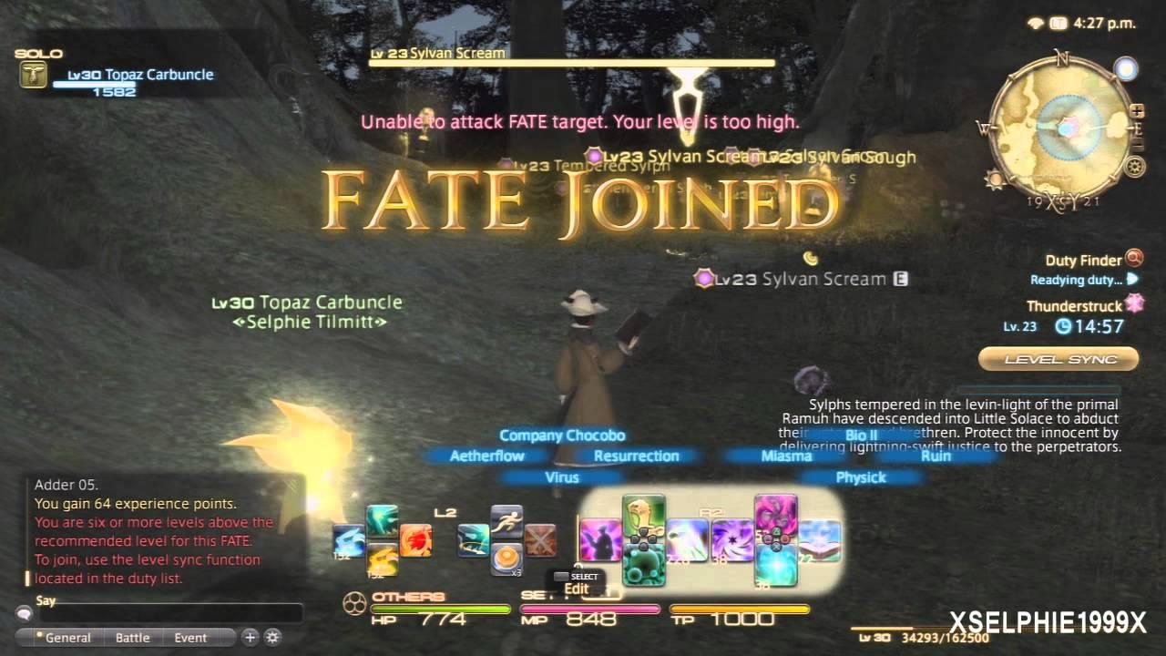 Final Fantasy XIV A Realm Reborn - Twin Serpents Grand Company Hunting Log  (Rank 1 / 1-10)