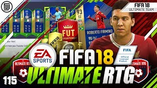 TOTS FIRMINO!!! FIFA 18 ULTIMATE ROAD TO GLORY! #115 - #FIFA18 Ultimate Team