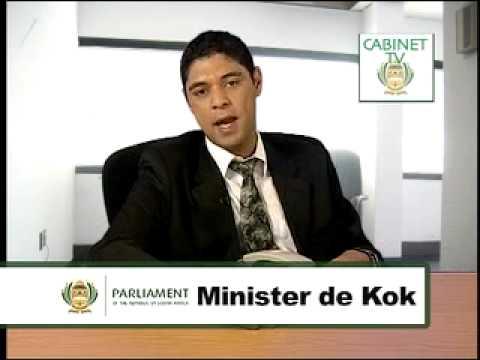 Last Say On Sunday - Sakkie De Kok, Minister of Ministers