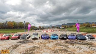 Forza Horizon 4 Japfest Drift Car Show! Insane Tandems, Drift Montage, Downhill Battles And More!
