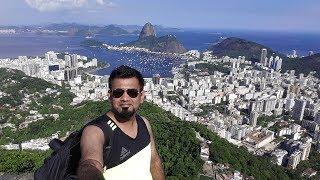 Bird eye from the highest mountain of Rio De Janiero