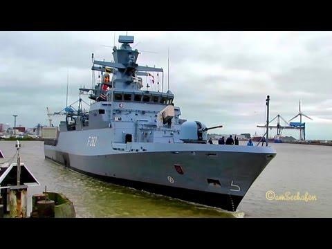 Korvette Erfurt IMO 211912000  Emden  F262 Bundesmarine Marine BRD Deutschland Germany