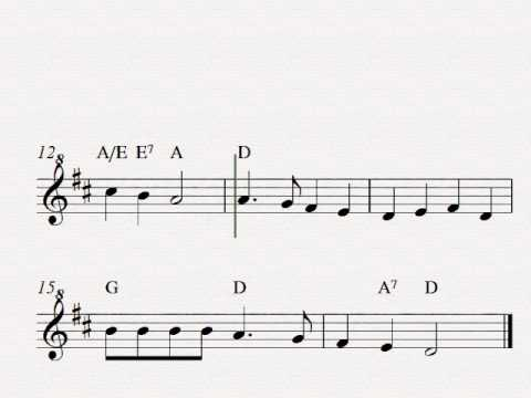 Deck The Halls - Free easy Christmas soprano recorder sheet music