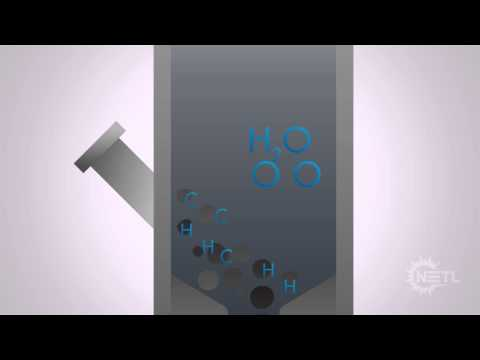 Gasification Animation