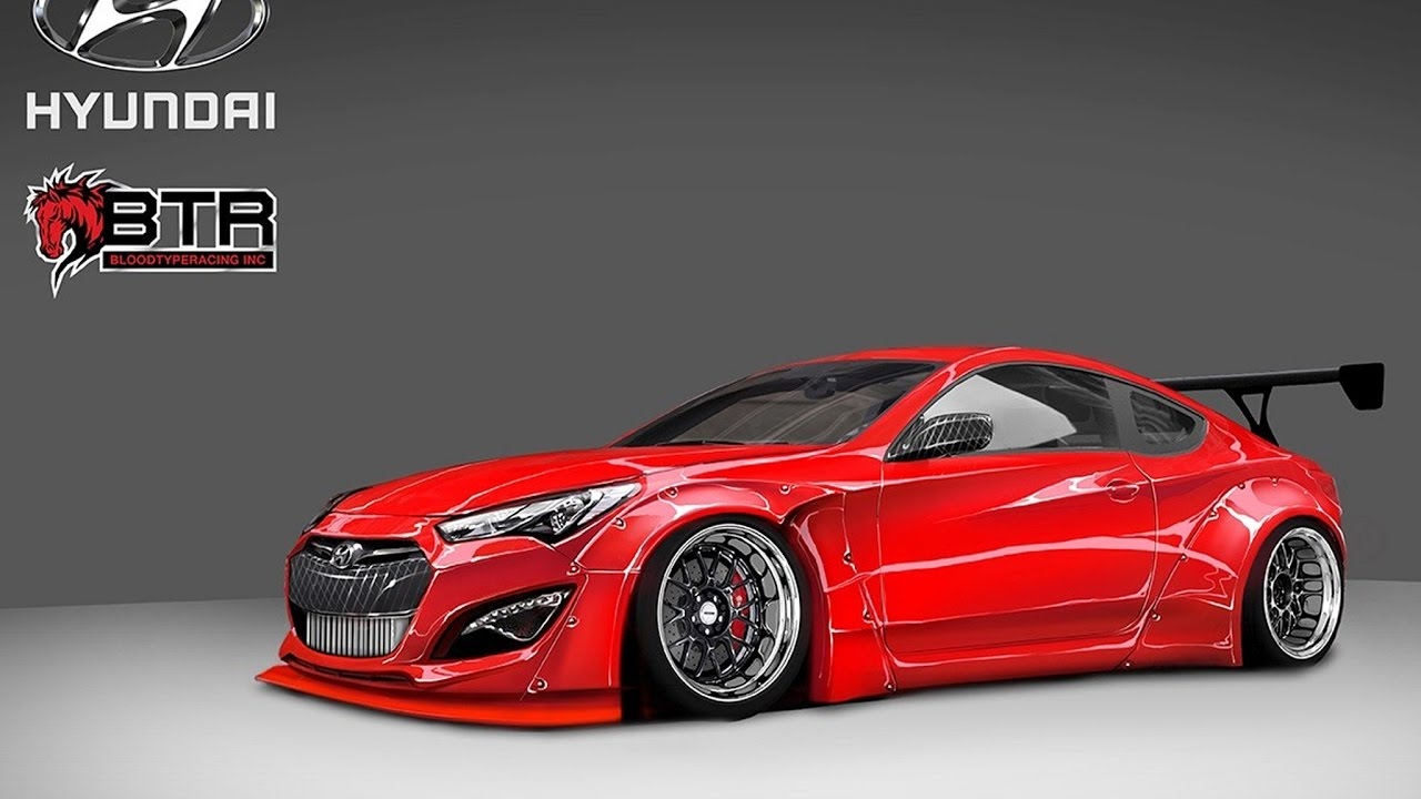Hyundai Genesis Coupecustom Styles 50 Different Looks For Your Rod