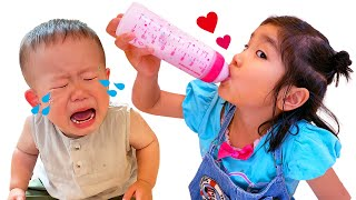 【寸劇】みのちゃんは赤ちゃんになりたい!素敵なお姉ちゃんになって、ちゃんと赤ちゃんのお世話できるかな?教育 こたみのチャンネル...