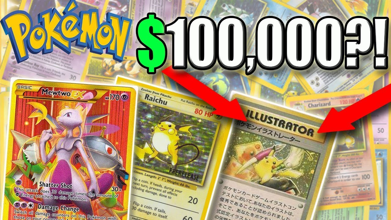The 10 most expensive Pokemon cards |Rare Pokemon Cards Expensive