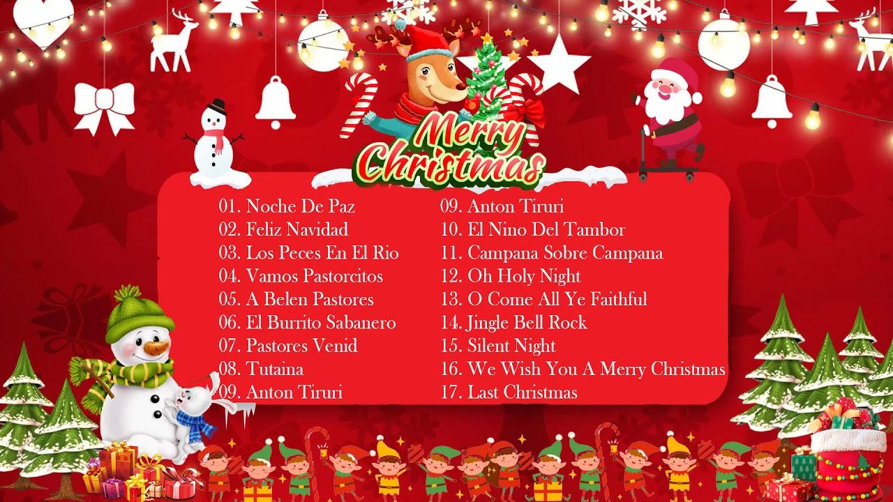Canciones De Navidad 🎅🏽 Música Navideña 🎄 Villancicos De Navidad Clásicos ☃️ Feliz Navidad 2022