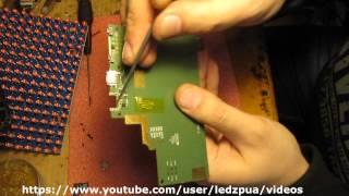 Lenovo IdeaTab S6000 разборка, нет заряда / repair no charger