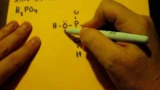Lewis Dot Structure H3po4 Phosphoric Acid