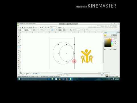 Membuat Desain Logo Sekolah Dengan Corel Draw.