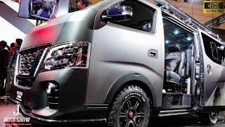 (4K)NISSAN NV350CARAVAN Grand Touring Concept 日産キャラバンNV350グランドツアーコンセプト - 東京オートサロン2018 thumbnail