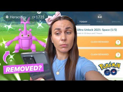 WHY DID THEY REMOVE HERACROSS?? Pokémon GO