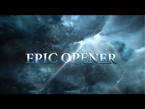 Epic Action Opener Element 3D | After Effects template