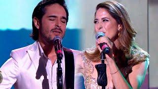 Laura Novoa cantó