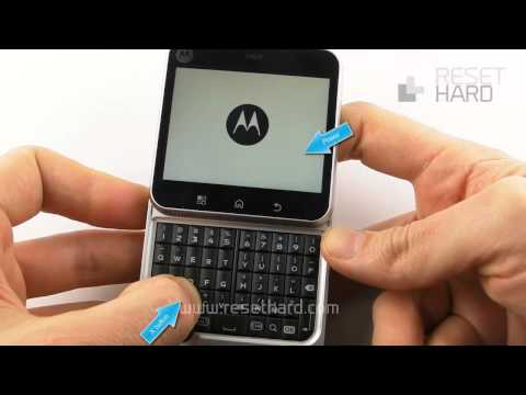 Hard Reset Motorola FlipOut How-To