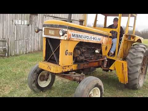 BIG IRON ONLINE AUCTION 12-27-2017: 1966 Minneapolis-Moline G-1000 2WD Tractor DG6644