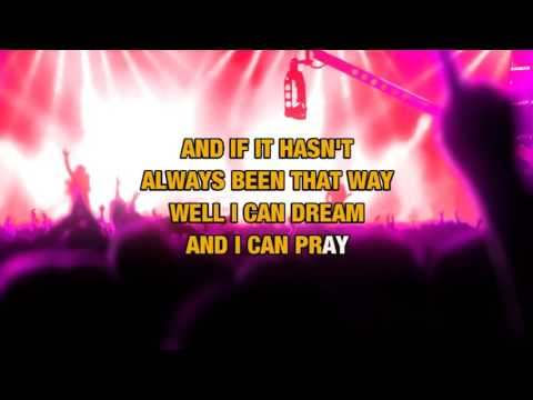 For My Wedding (Radio Version) in the style of Don Henley | Karaoke with Lyrics