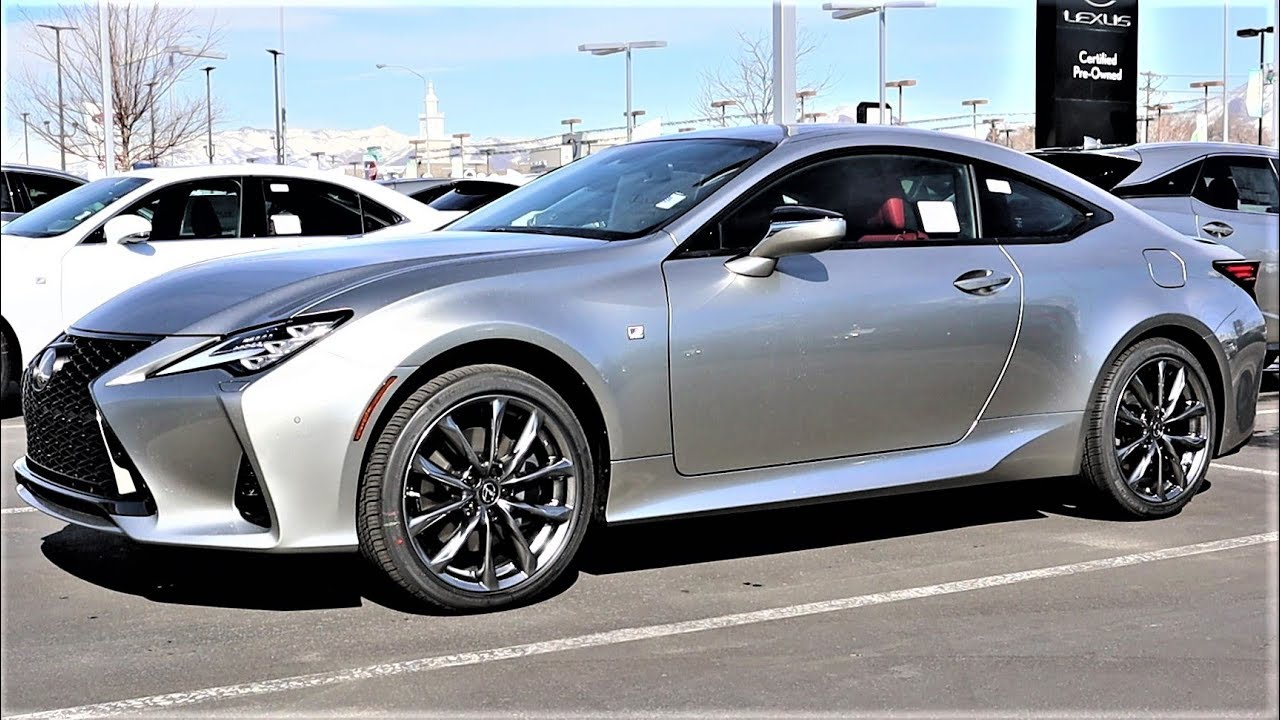 2020 Lexus Rc 350 F Sport Awd The New Rc Is An Amazing Daily Driver Youtube