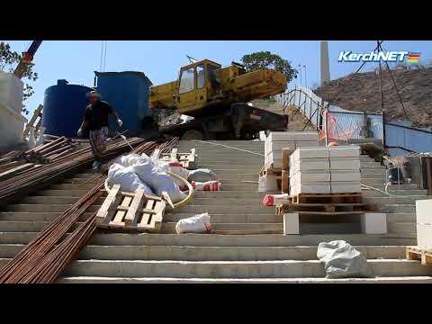kerchnettv: Неожиданные препятствия в ремонте Митридатской лестницы