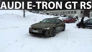 Audi e-tron GT RS quick review