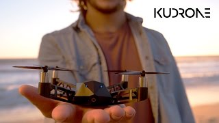 Kudrone: 4K Camera Nano-Drone With GPS Auto-Follow