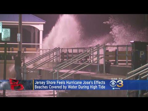 Jose Weakens To Tropical Storm Off Us East Coast