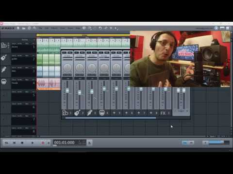 Recording Vocals With A USB Mic For Magix Music Maker 2019