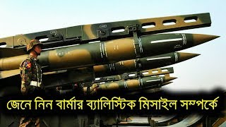Myanmar Army Tactical Ballistic Missile   মায়ানমারের মিসাইল, বাংলাদেশের জন্য কি উদ্বেগ?