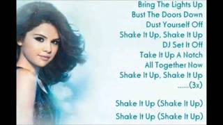 Selena Gomez shake it up theme song lyrics