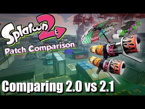 Splatoon 2 - Patch Differences & Thoughts of 2.0 vs 2.1?!