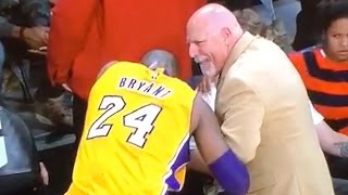 Kobe Bryant Gets Finger Popped Back In, Keeps Playing