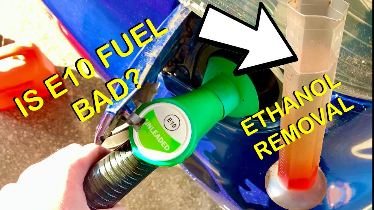 Download E10 Petrol Real World Test & DIY Ethanol Extraction From Gasoline, (E10 VS E5 BHP & MPG, CityBug)