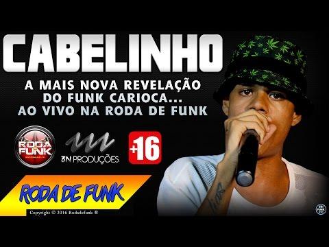 MC Cabelinho - Lançando só as brabas no palco da Roda de Funk (Ao vivo) +16 anos