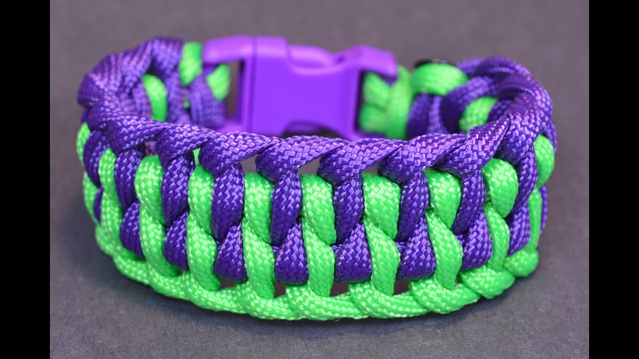 how to make a paracord bracelet with buckle how to make the quot wide genoese quot paracord bracelet with 6526