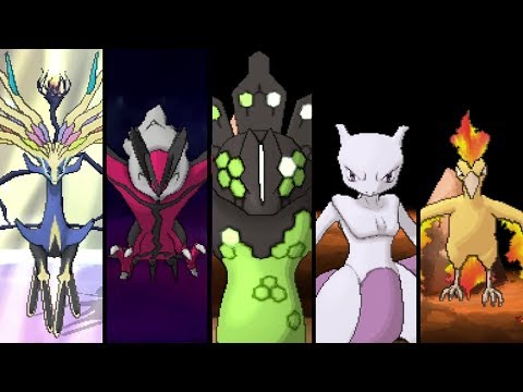 Pokemon X and Y - All Legendary Pokemon