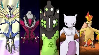 pokemon x and y all legendary pokemon
