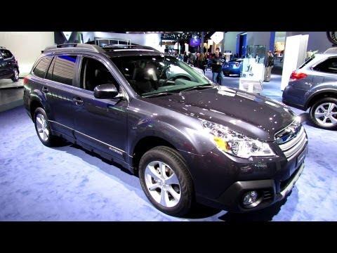 2013 Subaru Outback - Exterior and Interior Walkaround - 2013 Detroit Auto Show