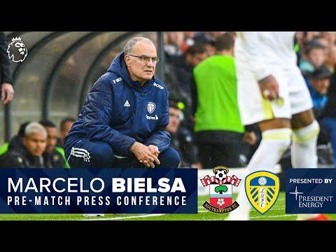 LIVE: Marcelo Bielsa press conference | Southampton v Leeds United | Premier League
