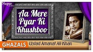 Aa Mere Pyar Ki Khushboo - Ustad Amanat Ali Khan - Superhit Sad Ghazals - Nupur Audio