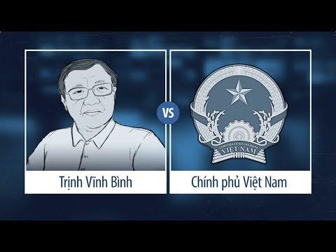 """Số tiền ông Bình đòi chính phủ Việt Nam bồi thường là """"tối thiểu 1,25 tỷ đôla."""""""