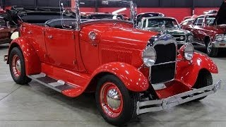 1929 Ford Model A Phaeton For Sale