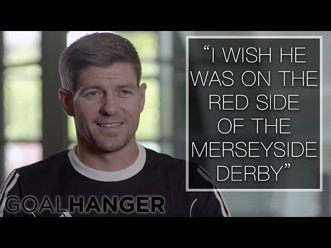 Steven Gerrard on Wayne Rooney FULL INTERVIEW | Wayne Rooney: The Man Behind the Goals