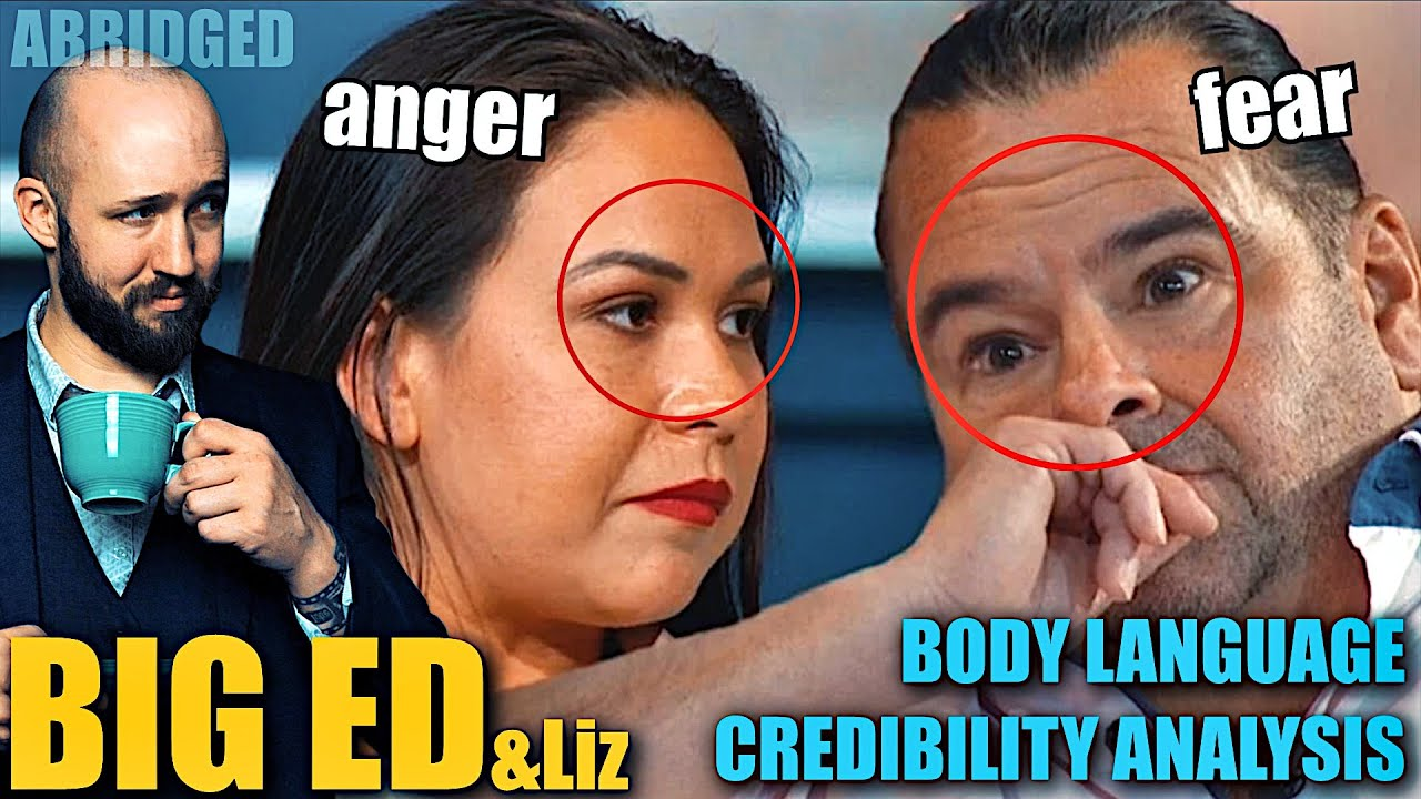Big Ed and Liz's Body Language Shows All | Nonverbal Analyst Reacts