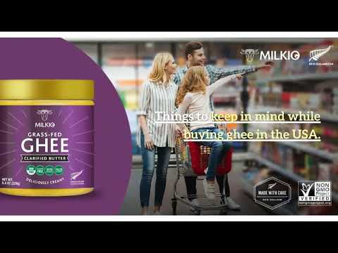 Where can you buy ghee in the USA hassle-free