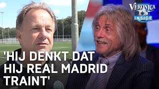 Johan Derksen over trainer Graafschap: 'Die trainer denkt dat hij Real Madrid traint'
