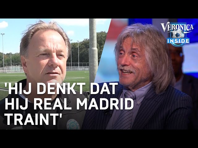 Johan over Mike Snoei: 'Hij denkt dat hij Real Madrid traint'   VERONICA INSIDE
